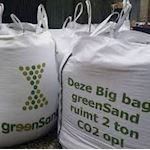 1600 kg Big Bag greenSand 10-30 µ